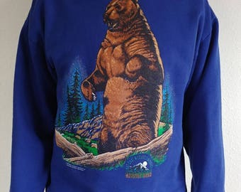 Vintage Grizzly Bear Sweatshirt