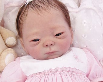 Kameko   CUSTOM made 19 inch reborn  baby Oriental  sweetheart! Special baby made to order.