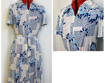 Lady Gibson Cameo Collection 70s Day Dress
