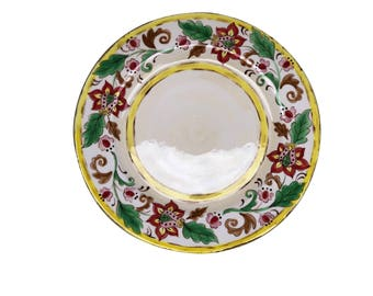 Beyond Tableware Tech Porcelain  Glazed Hand Crafted Plate