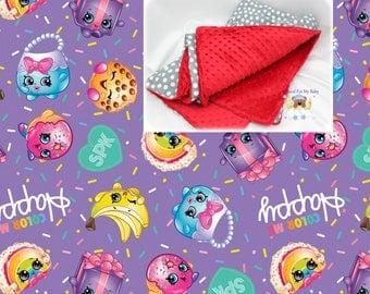 Shopkins Blanket Disney Shopkins Toddler Bedding Girl Crib Blanket Cotton Minky Blanket Shopkins Crib Bedding Toddler Crib Bedding