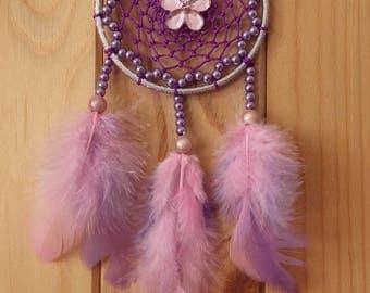 Purple pink DREAMCATCHER dream catcher