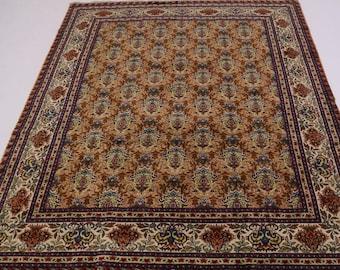 Exceptional Allover Design Signed Tabriz Persian Rug Oriental Area Carpet 10X13