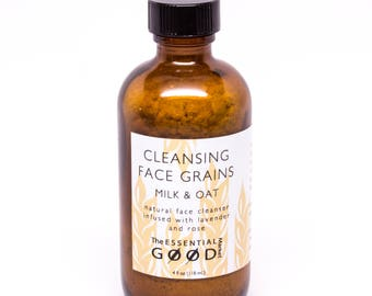 Face Cleansing Grains | Natural Face Cleanser, Face Scrub, Face Wash, Face Cleanser, Gifts for Her