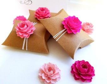 """Pink Favor Box Toppers 50 ct. 