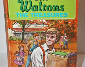 The Waltons (The Treasures) Hardcover Vintage Book by Whitman 1975