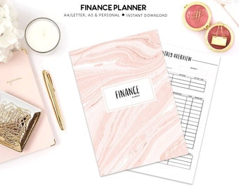 Finance Planner Printable, Budget Planner, Household Planner, Financial Planner, Finance Binder, Budget Printable, Monthly Budget