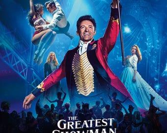 The Greatest Showman  Hugh Jackman, Michelle Williams, Zac Efron 2017 movie poster