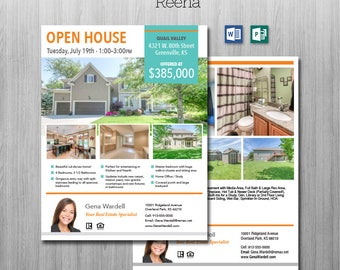 publisher real estate flyer templates
