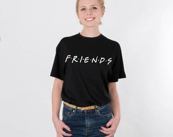Friends TV Show Clothing Friends Tv Show Shirt Friends TV Show Tshirt Friends TV Show T-shirt Friends tv Show T Shirt Friends tv Show PA1156