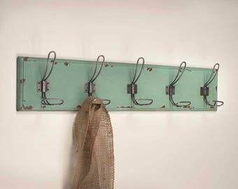 Rustic Entryway Coat Rack-Rustic Entryway Coat Hooks-Rustic Wooden Coat Rack-Wall Mounted Coat Rack-Rustic Towel Rack-Rustic Towel Holder