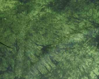 Artisan Spirit-Falling Leaves-Evergreen (5071-79) Cotton Fabric from Northcott Studios