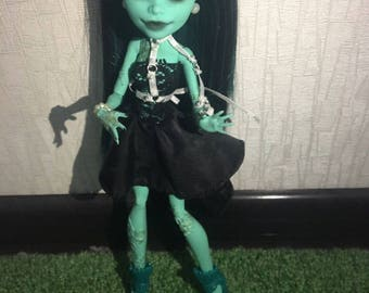 monster high repaint doll free shipping