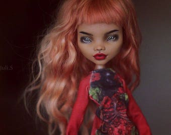 monster high repaint doll LUXE ooak doll free shipping