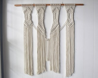 Large Modern Macrame Wall Hanging