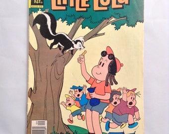Vintage Comic Book Little Lulu