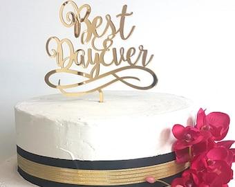 Best Day Ever Topper, Engagement Cake Topper, Custom Cake Topper, Personalized Cake Topper, Wedding Cake Topper