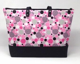 Minnie Mouse Diaper Bag, Diaper Bag, Baby Shower Gift, New Baby Gift, Minnie Mouse, Nappy Bag, Tote Bag, Mommy Bag, Baby Bag, Shoulder Bag