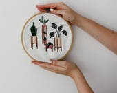 Modern Embroidery Kit, Em...
