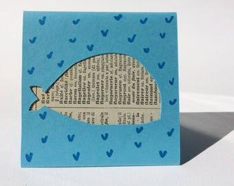 EphemeraCard: little french whale