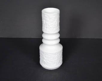 Royal Porzellan Bavaria KPM white  porcelain white  vase - Germany