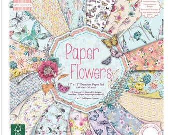 Paper Flowers Paper Pad