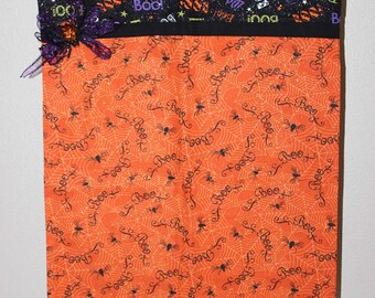 "Halloween Trick or Treating Bag (Pillowcase ""Boo Sparkle"")"