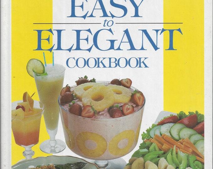 Dole Easy to Elegant Cookbook 1989