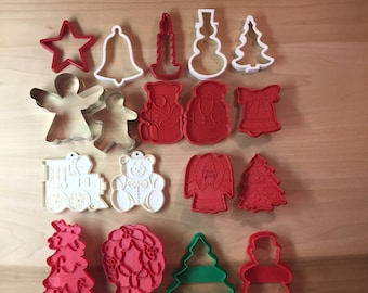 18 Christmas Cookie Cutters