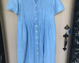 Vintage Talbots summer dress, long