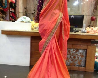 Designer saree, Party wear saree, georgette saree, Wedding wear collections, Gift , Occasional wear, Bridal wear