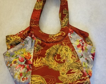 Chinese Dragon Market Bag