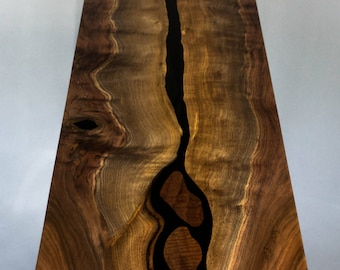 River Table, Live Edge Table, Live Edge Coffee Table, Coffee Table Modern, Entry Table, Rustic Coffee Table, Entry Way Table, Resin Table