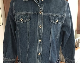 Vintage 1990's LA Blues Denim Jacket