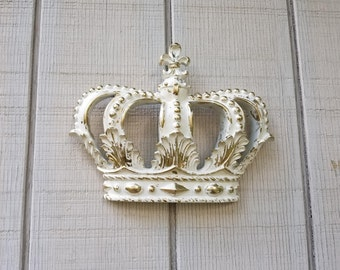 Heirloom Gold Crown Wall Decor Nursery Decor Crib Crown Canopy Wall Decor  Ornate Crown Fleur De Part 87