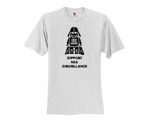 Support Surveillance - Darth Vader T-Shirt