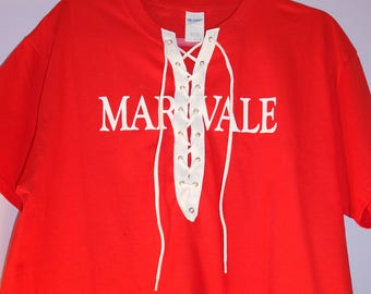 Maryvale Lace-Up Vintage T-shirt