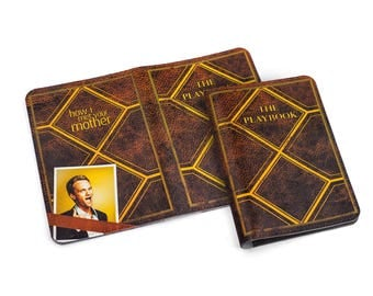The Playbook Passport Holder, How I Met Your Mother Passport Cover, Barney Stinson leather passport wallet holder