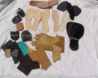 Lot of professional shoe-making equipment, shoemaker