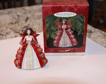 Hallmark 1997 Holiday Barbie Ornament, Fifth in Series