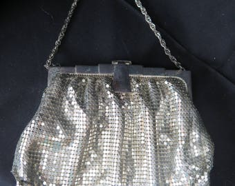 Victorian Whiting & Davis Metal Mesh Purse