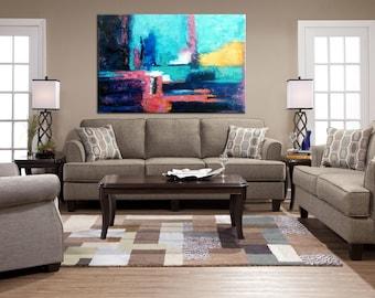 Art, On Canvas, Wall decor, Abstract Decor Painting, Canvas Art, Large Wall Art, Acrylic painting, Abstract Art, Original Painting, Painting