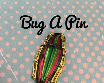 Butterfly Tin Pin | Bugs Tin Pin | Jewellery | Tin Pins | Tin Brooches