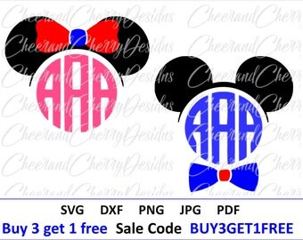 Disney SVG Disney Monogram SVG Minnie mouse SVG Mickey mouse svg Mickey ears Disney Clipart Disney ears svg Cut Files for cricut Silhouette