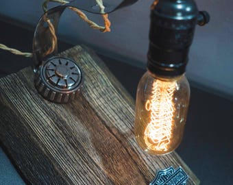Handmade table lamp Pride&Joy