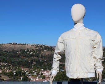 Vintage White Munsingwear Golf Jacket