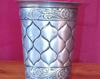 Old Pewter zinn 95% Tin peltro Cup