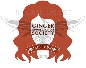 St. Patrick's Day SVG | Ginger Appreciation Society svg | st pattys day svg | st paddys day svg | st patricks day svg | st patricks svg