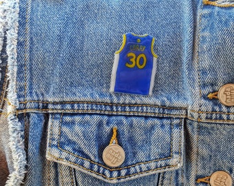 Stephen Curry Jersey Pin