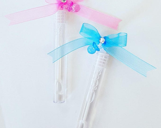20 Bubble wands baby shower favours Christening Baptism Childrens Party favours
